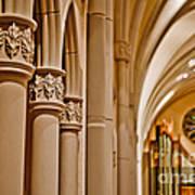 Pillars Of Faith Art Print