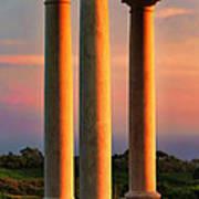 Pillars Of Life Art Print