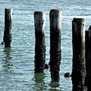 Pillars Of The Sea Art Print