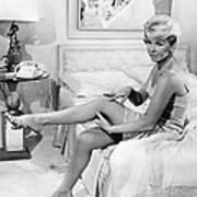 Pillow Talk, Doris Day, 1959 Art Print