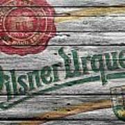 Pilsner Urquell Art Print