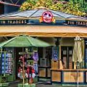 Pin Traders Downtown Disneyland 02 Art Print