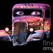 Pin Up Cars - #3 Art Print