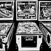 Pinball Memories Art Print
