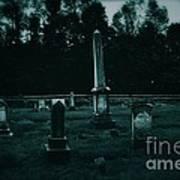Pine Hill Cemetery Art Print