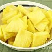 Pineapple Chunks Art Print