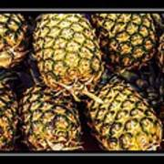 Pineapple Color Art Print