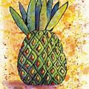 Pineapple Fun Art Print