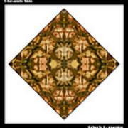 Pineapple Skin Print by Roberto Alamino