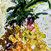 Pineapple Triptych Part 2 Art Print