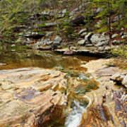 Piney Creek In Southern Illinois Art Print