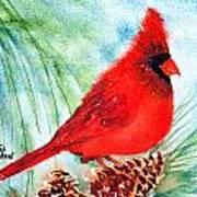 Piney Perch Art Print