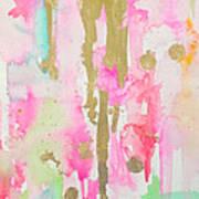 Pink N Glam Art Print