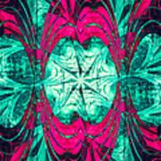 Pink Overlay Art Print