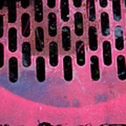 Pink Perfed Art Print