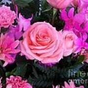 Pink Pink Love Is Pink Art Print