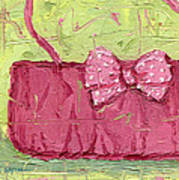 Pink Purse Party Art Print