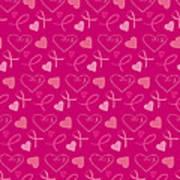 Pink Ribbons  Art Print