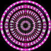 Pink Rings Art Print