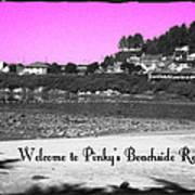 Pinky's Beachside Resort Art Print