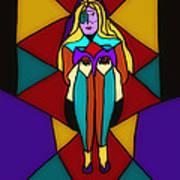 Pinnacle Of Womanhood Art Print