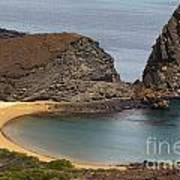 Pinnacle Rock Galapagos Art Print