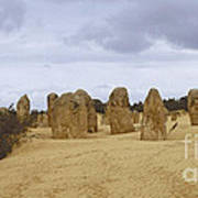 Pinnacles Australia Art Print