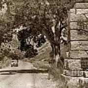 Pinnacles National Monument California Circa 1946 Art Print