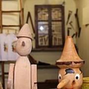 Pinocchio Art Print by April Antonia