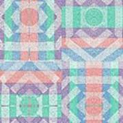 Pinwheel Dreams 0-5 Art Print