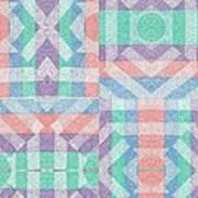 Pinwheel Dreams 0-6 Art Print