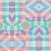 Pinwheel Dreams 0-9 Art Print