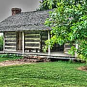 Pioneer Cabin 21 Art Print