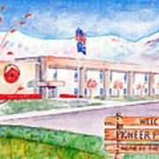 Pioneer Peak Elementary School Art Print