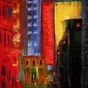 Pioneer Square Alleyway Art Print