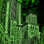 Pioneer Square In The Emerald City - Seattle Washington Art Print