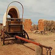 Pionner Wagon Art Print