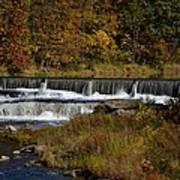 Pipe Creek Falls Art Print