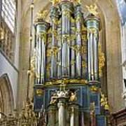 Pipe Organ In Breda Grote Kerk Art Print