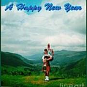 Piper Greeting The New Year Art Print