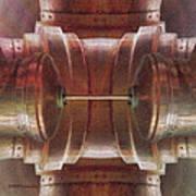 Pipes 4 Art Print