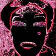 Pippas Pink Beauty Mark Art Print