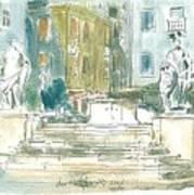 Piran - Square 1st May Art Print