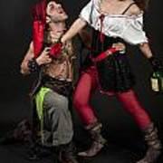 Pirate Couple 1 Art Print