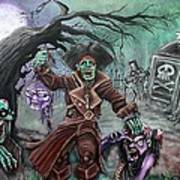 Pirate's Graveyard 2 Art Print