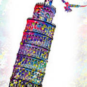 Pisa Tower  Art Print