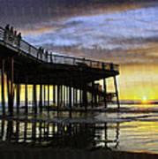 Pismo Sunset View Art Print