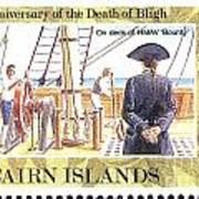 Pitcairn Island Stamp Art Print