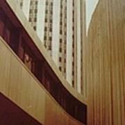 Pitt Towers Art Print