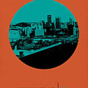Pittsburgh Circle Poster 1 Art Print